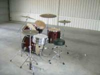 Description: 4 Piece Shell Pack Drums are brand new,