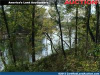 Riverfront land auction for 345 +/- acres of recreation