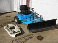 "11hp. Dixon zero turn with 42"" mower deck and a 48"""