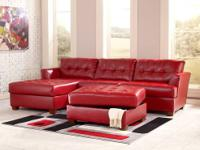 Dixon Sectional by Ashley * Covered in DuraBlend