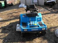 this is a 13hp dixon zero turning mower very fast if