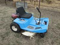 "Dixon ZTR 428 zero turn mower with 42"" deck. 18.5 HP"