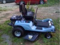 This is a very nice hydro zero turn mower. Has very