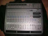 "I have an ""As New"" 1000 watt power amp, 2 graphic EQ's,"