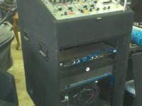 Mackie 1000watt Amplifier $150, American DJ Mixer
