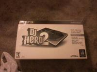 I have Dj Hero 1 and 2 for sale, They are like brand