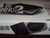 DJ hero 2 new in box this is the game and turntable
