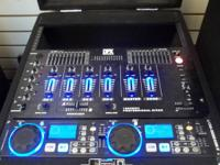 * Dual CD Player * 3100 Watt Amp * Two Huge Black