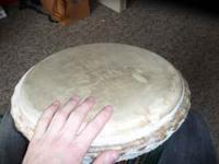 great sounding djembe paid $500 come pick it up before
