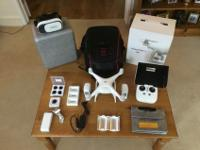 Items included:DJI Phantom 4.3 Batteries.DJI