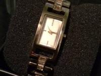 Selling my DKNY watch for small wrist.  Watch is still
