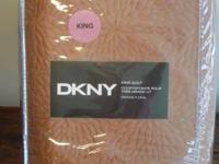 DKNY Vintage Floral Copper Brown Chrysanthemum King