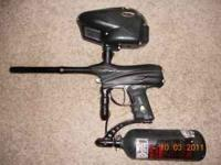 It has a12 inch Freak barrel and a drop foward, it