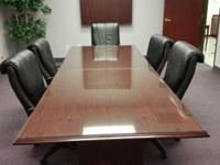 Now selling 10' DMI conference table in very good