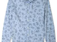 Dress up your style with this handsome floral print