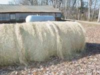 have good rolled hay 20/roll dry kept 15/roll outside