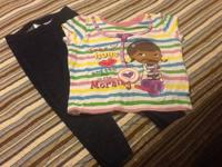Doc McStuffins Striped T-shirt  sz 4t - lots of