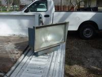 Heavy Duty Sealed Floodlights in Aluminum housing. High