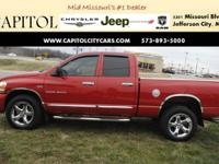 From city streets to back roads, this Red 2006 Dodge