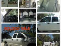 WHITE DODGE 4 DR 4 WHEEL DRIVE DIESEL 2007 FOR SALE AT