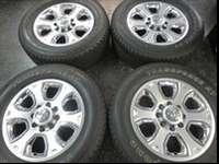"(4) 2013 DODGE RAM 2500 PICKUP 20"" SIX SPOKE CHROME"