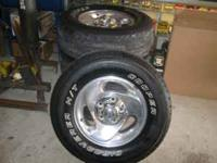Set of 4 Factory 16 inch wheels with center caps in