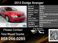Call Tom Wood Toyota at  Stock #: 9569X Year: 2013