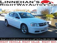 This 2012 Dodge Avenger offers the best of both worlds.