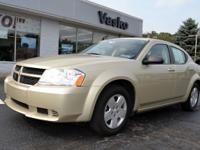 1 Owner 2010 Dodge Avenger SXT with only 17K