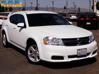 With 31,624 miles, this 2012 Dodge Avenger represents