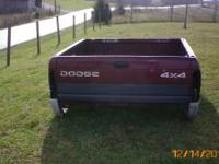 SWB dodge bed complete with tail lights and tail gate.