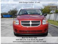 DODGE CALIBER 2008 CLEAN TITLE FOR ONLY $ 7900 . ...($
