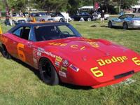 1969 Dodge Daytona First NASCAR Grand National car to
