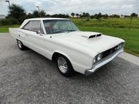1967 Dodge Coronet R/T 440-6 pack restored and ready to