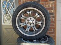 "Four 18""mag wheels for Dodge Dakota or Durango, no"
