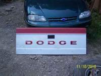I have for sale a tailgate for a 1992 Dodge Dakota