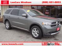 Overhauled for 2011, the Dodge Durango qualifies as a
