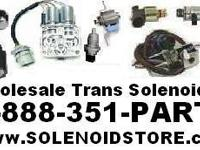 TRANSMISSION 2pc. SOLENOID SET FOR THE VALVE BODY.