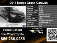 Call Tom Wood Toyota at  Stock #: 9578X Year: 2013
