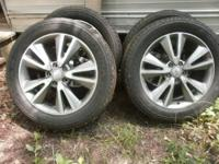 Goodyear Fortera tires in like new condition 265-50-R20