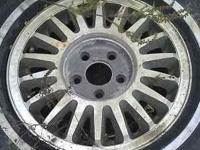 "I HAVE SOME FACTORY DODGE 14"" ALUMINUM WHEELS FORSALE."