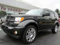 2011 Dodge Nitro Heat 4X4 with 4.0L V6, Sunroof and