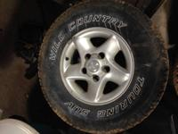 Up for sale is a vehicle and tires off of a 1999 Ram