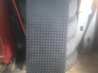 I have a rubber bed mat good shape $25 Diamond plate