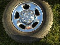 Dodge Ram truck 1500 chrome 17 inch wheels 265/70/17