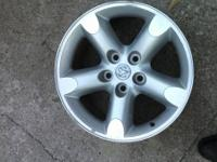 "For sale, set of 4 20"" Dodge alloy wheels, all solid"