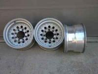 3 Dodge Eagle Alloys 16.5 X 9.75, 67 series, 19 mm, 2