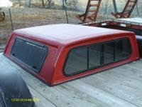 FOR SALE DODGE SHORT BED DAKOTA TOPPER . REALLY GOOD
