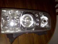 I have a set of sonar Halo projection headlights I paid