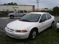 1999 Stratus 4 dr, 134K, 2.4 4 cylinder economy.at, ps,